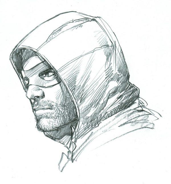arrow-season-5-sketch-neal-adams