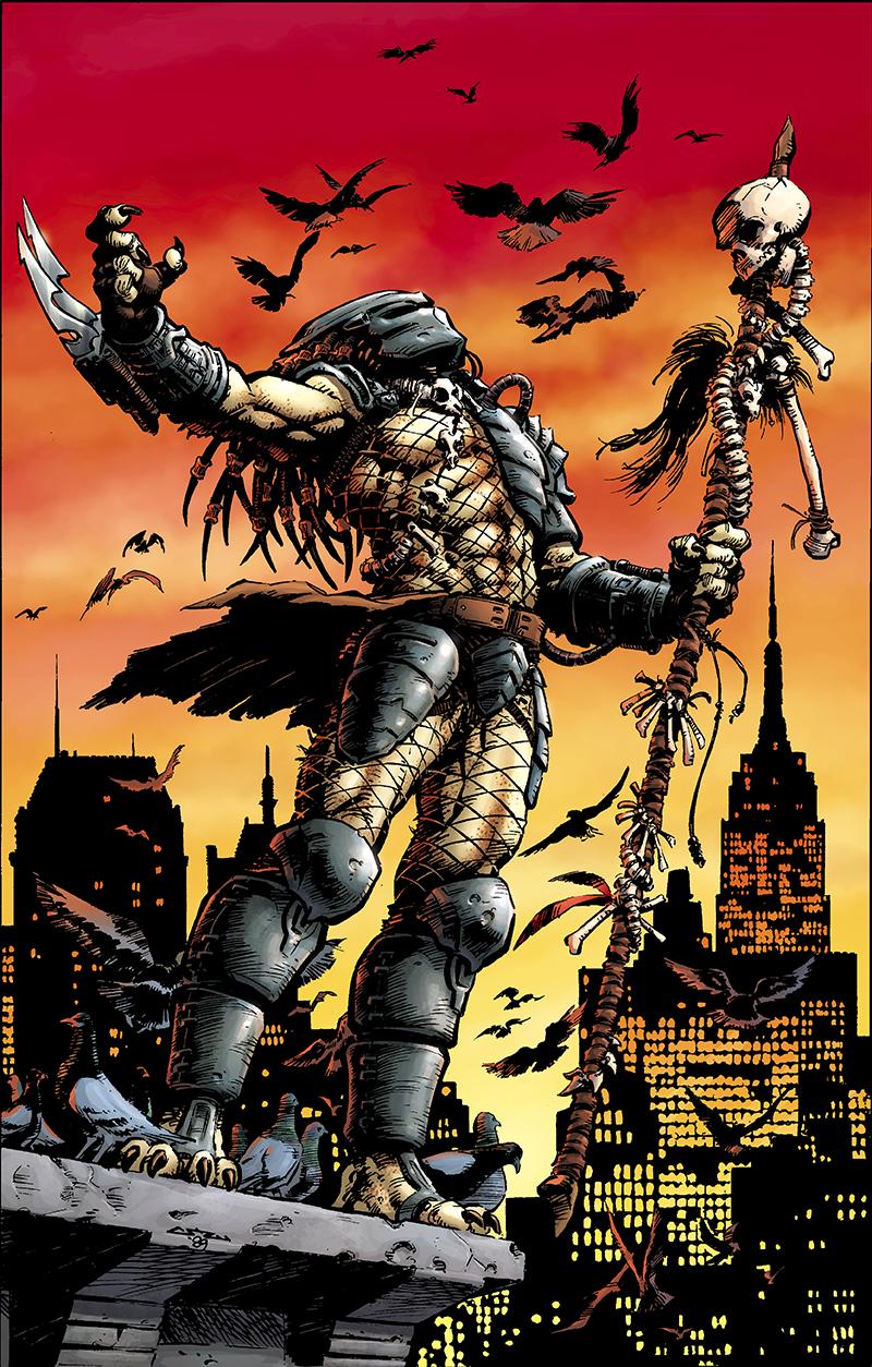 The Predators Become The Prey In Dark Horse's New Predator Series
