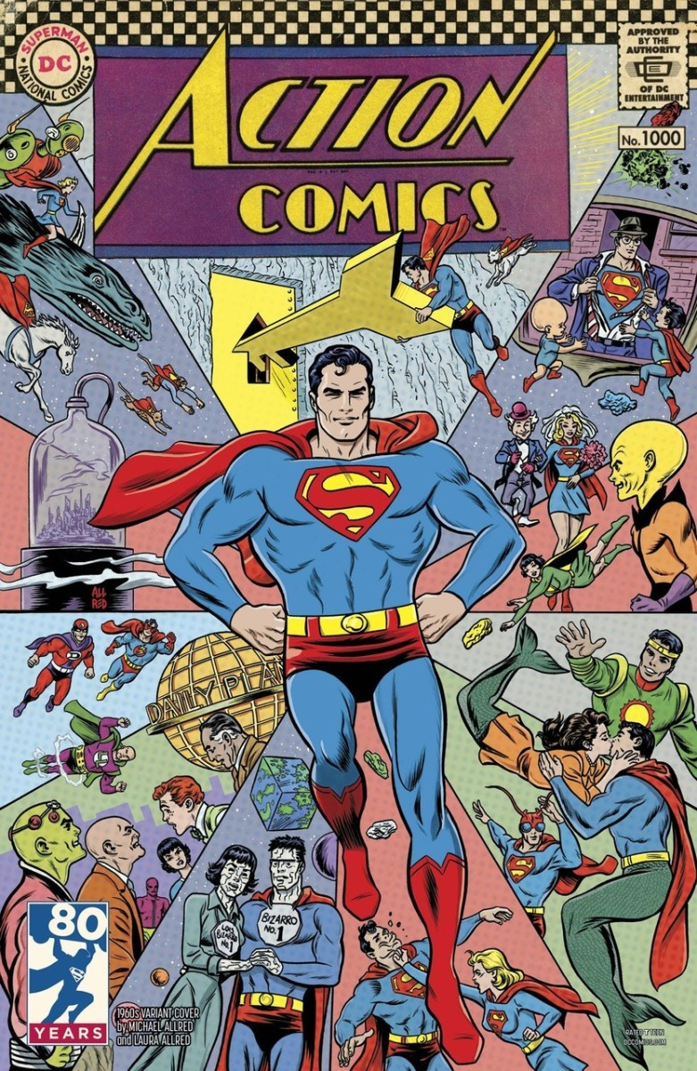 Celebrating Superman: The History of Action Comics - The Silver Age