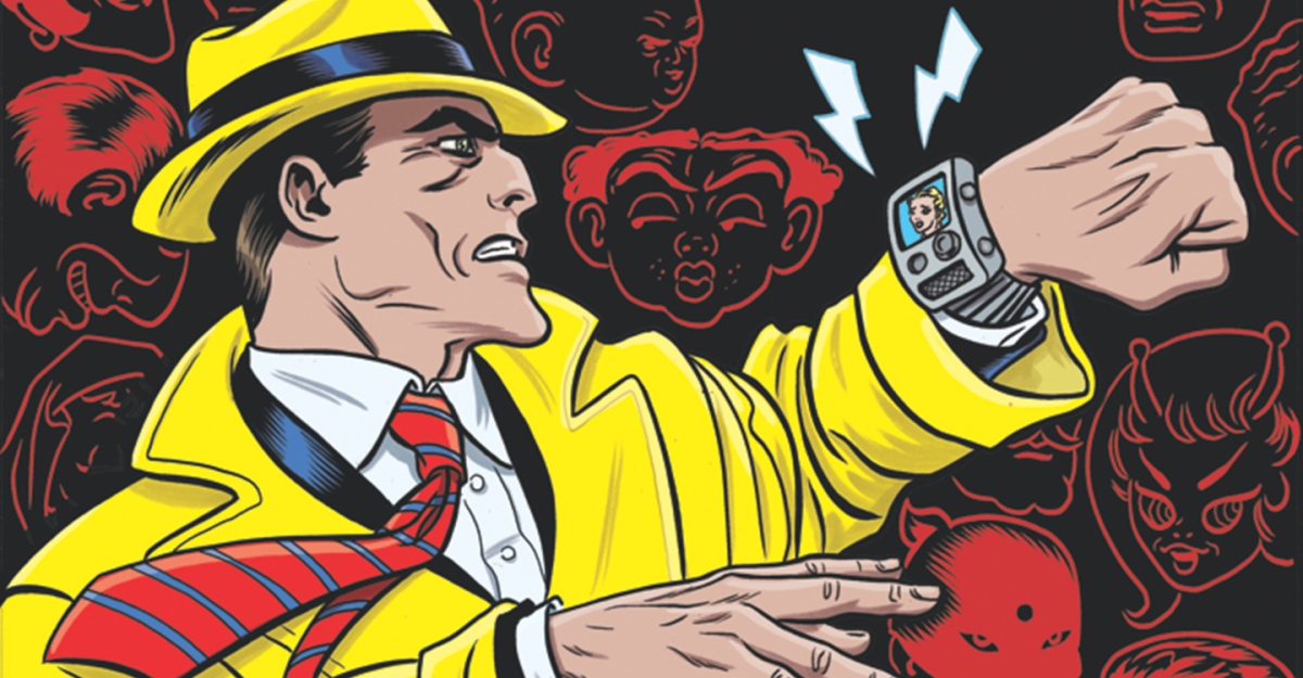 IDW Publishing Brings Back Old-Fashioned Justice in Dick Tracy: Dead or Alive!